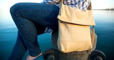 Fold Over purse. Daily Fashion, Leather Backpack, Canada, Backpacks, Handbags, Purses, Leather Backpacks, Totes