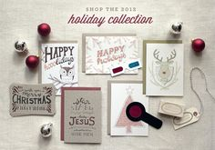 wit and whistle holiday cards