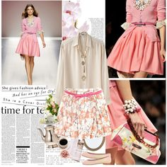 Time for Tea, created by katrinaballerina.polyvore.com