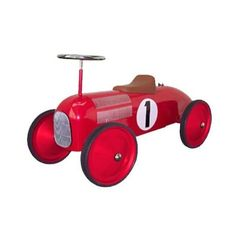Marquant Classic Kids Pedal Car - Ride-On Toy - Red