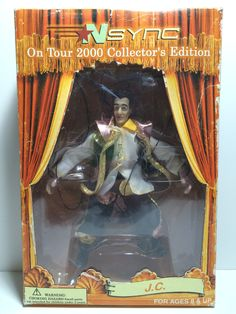 (TAS030111) - 2000 NSYNC On Tour Collector's Edition Action Figure