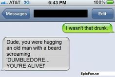 Even though this probably is fake...still funny :)