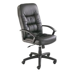 Safco 3470BL Serenity™ High Back Executive Chair