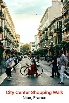 Nice city center boasts enough shopping opportunities to keep you busy for days. The heart of this retail haven is the Avenue Jean Médecin, considered the Oxford Street of Nice and the streets leading off it.