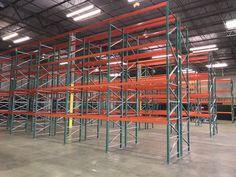Newly installed warehouse storage system – FlexRack® pallet rack from Next Level. Warehouse, Pallet, Divider, Storage, Room, Furniture, Home Decor, Purse Storage, Bedroom
