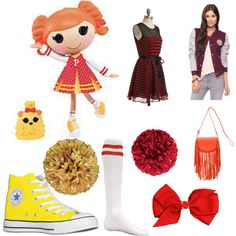 """Peppy Pom Pom"" by flyingtoaster on Polyvore"