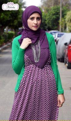 maleeka ♥ Muslimah fashion & hijab style
