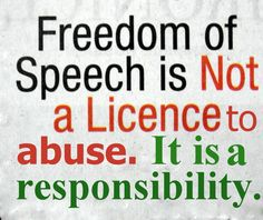 27 9th 5th Should We Have Limitations On Freedom Of Speech Ideas Freedom Of Speech Speech Freedom