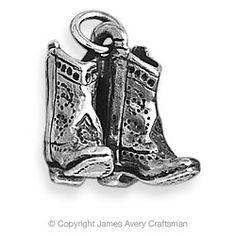 Cowboy Boots Charm