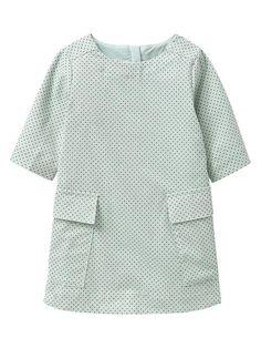 Polka dot shift dress Product Image