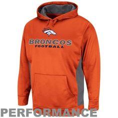 Denver Broncos Gridiron V Pullover Performance Hoodie - Orange Broncos Shirts, Different Sports, Sports Photos, Denver Broncos, Christmas Ideas, Football, Pullover, Gift Ideas, Orange