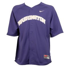 Gear up for Spring! You can find this Washington Replica game day baseball jersey at the #HuskyShop in the UW Bookstore.