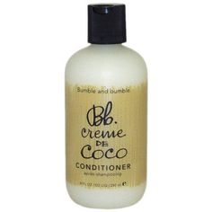 Bumble and Bumble Conditioner, Creme de Coco, 8 fl oz (250 ml)***One 8-ounce bottle of hair conditioner,Made with rich, natural coconut oil and murumuru butter for extra softness and shine,Mallow and milk thistle soothe and protect hair from damaging free radicals,Moisture rich, shine enhancing, and frizz taming,Compatible with color-treated hair and ideal for anyone whose hair is dry or dull,.