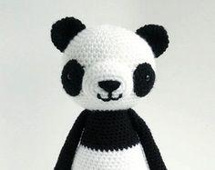 Panda - amigurumi haakpatroon