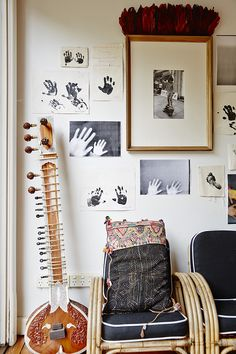 Moon to Moon: Gallery wall inspiration for your home. Decoration Chic, Decoration Inspiration, Nursery Inspiration, Interior Inspiration, Decor Ideas, Style Baby, San Francisco Girls, Bohemian Nursery, Bohemian Bedrooms