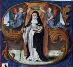 Antiphonaire à l'usage de l'abbaye Sainte-Rictrude de Marchiennes Langue latin OriginFrance du nord (Valenciennes) Datation 1569-1570