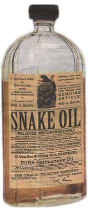 real. simple. snake oil.