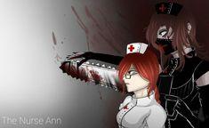 Chatacter was coined byYaguyi. The Nurse Ann Best Creepypasta, Creepypasta Girls, Creepypasta Characters, Nurse Ann, Nurse Drawing, Scary Drawings, Jeff The Killer, Dark Anime, Horror Art