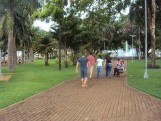 Praça Dr. Boaventura, em Rio Brilhante - MS