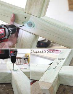 How to build a DIY Mailbox Post | www.blackandwhiteobsession.com