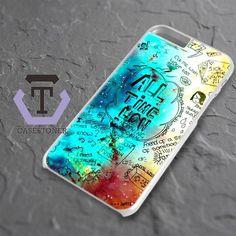 All Time Low Quotes Nebula iPhone 6 Plus|iPhone 6S Plus Black Case