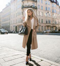 Le manteau habillé, LA vedette mode du moment, se ...