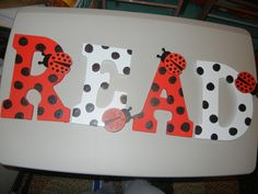 Ladybug Classroom Decoration Ideas : Ladybug black polka dot letters bilingual set ladybug polka dot