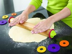 The Joseph Joseph Adjustable Rolling Pin Plus is a simple and yet awesome time-saving tool for the kitchen.