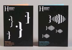 What makes this branding campaign exceptional is that it uses nothing but typographical characters on a black background and yet it conveys imagery and motion.