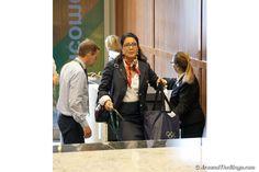Nawal El Moutawakel at the IOC Session (ATR)