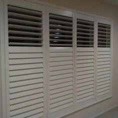Double Hung Shutters In Cafe Style This Little House