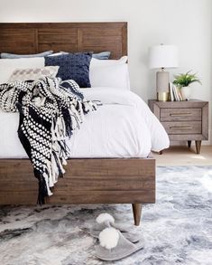 Turn your bedroom into the dreamiest of spaces with the Asher Bedroom Collection for more style less snooze. Timeless mid-century design wrapped in a modern-rustic finish makes Asher the undeniable star of your dreams.  Save 15% off all bedroom furniture now until August 6th!
