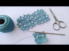 Irish Crochet, Knit Crochet, Crochet Videos, Crochet Stitches, Crochet Earrings, Projects To Try, Creations, Hair Accessories, Make It Yourself