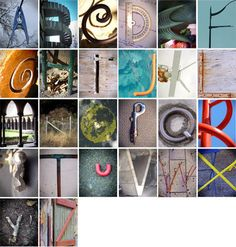 My alphabets. Lost letters on world. Alphabet Photography Letters, Alphabet Photos, Letter Photography, Photo Letters, Macro Photography, Film Photography, Photography Ideas, Graphic Art, Graphic Design