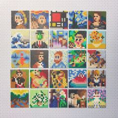 Fuse Beads, Perler Beads, Hama Art, Diy Things, Bead Patterns, Pixel Art, Embroidery, Quilts, Pearls