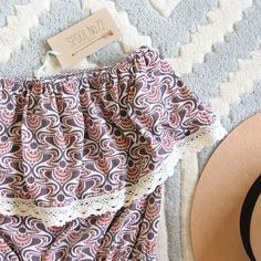 Honey Clover Romper, Sweet Lace Rompers from Spool No.72. | Spool No.72