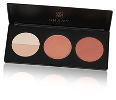 SHANY Cosmetics Amber Peach Contour and Blush Palette for Light and Medium Complexion, 11 Ounce * You can find out more details at the link of the image.