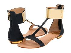 Dolce Vita gold cuff sandals  These would look good with almost anything...shorts...dress...jeans...etc...