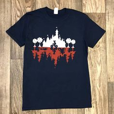 Stranger Things/Disneyland Tees. Go demogorgon hunting in the happiest place on earth.