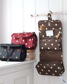 Polka Dot Toiletry Bag