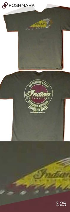 Indian Motorcycle (M) Hattiesburg Cycles Ms. Indian Motorcycle (M) Hattiesburg Cycles Hattiesburg Ms. Ms, Tee Shirts, Motorcycle, Man Shop, Indian, Best Deals, Sleeves, Mens Tops, Things To Sell