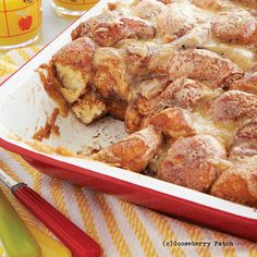 Gooseberry Patch Recipes: Auntie Kay Kay's Sticky Buns from Best Church Suppers Cookbook