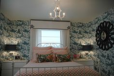 iron bed in front of window images - Google Search