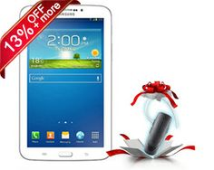 Last 3 seats, less than 7 Hrs. left, Rs. 2,000/- only for Samsung Galaxy Tab 3 T211. RUSH NOW!! http://www.dealite.in/Auction/Samsung-Galaxy-Tab-3-T211/DEAL09112013  * Free Bluetooth Headset in the Box * Original, box packed and with 1 year manufacturer's warranty * Android v4.1 (Jelly Bean) OS * 7-inch TFT Capacitive Touchscreen * 1.2 GHz Dual Core Processor * 3 MP Primary Camera * 1.3 MP Secondary Camera * Wi-Fi Enabled * HD Recording * Expandable Storage Capacity of 32 GB
