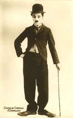 Vintage photo of Charlie Chaplin - old photos for Reminiscing