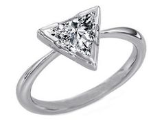 5 Ct GIA Trillion Cut Diamond Solitaire Wedding Ring  - Click to find out more - http://gioweddingrings.com/5-ct-gia-trillion-cut-diamond-solitaire-wedding-ring/