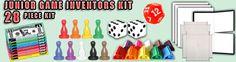 Game Kit, Inventors Kit, Game Inventors Kit, Invention Kit, Game Invention Kit, Kit for Games, Kit for Inventions, Kit for Game Inventions Inventors, Go Shopping, Game Design, Kit, Games, Gaming, Plays, Game, Toys