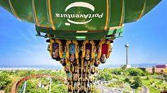 Spanien-Im größten Freizeitpark Spaniens, dem Port Aventura, warten über 37 Attraktionen auf die Besucher. Jeder der sechs Themenbereiche lockt die Gäste mit Fahrgeschäften, Shows und Restaurants. Darüber hinaus können exotische Orte wie das kaiserliche China, Polynesien, der Wilde Westen, Mexiko und sogar die Sesamstraße bereist werden.