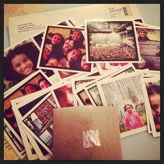 """""""Got my prints from @foxgram today. I HIGHLY suggest using their service. Super inexpensive. Fast service."""" #foxgram #instagram $0.25 each"""