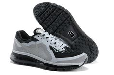 Mens Nike Air Max 2014 Dark Grey Black Men's Shoes